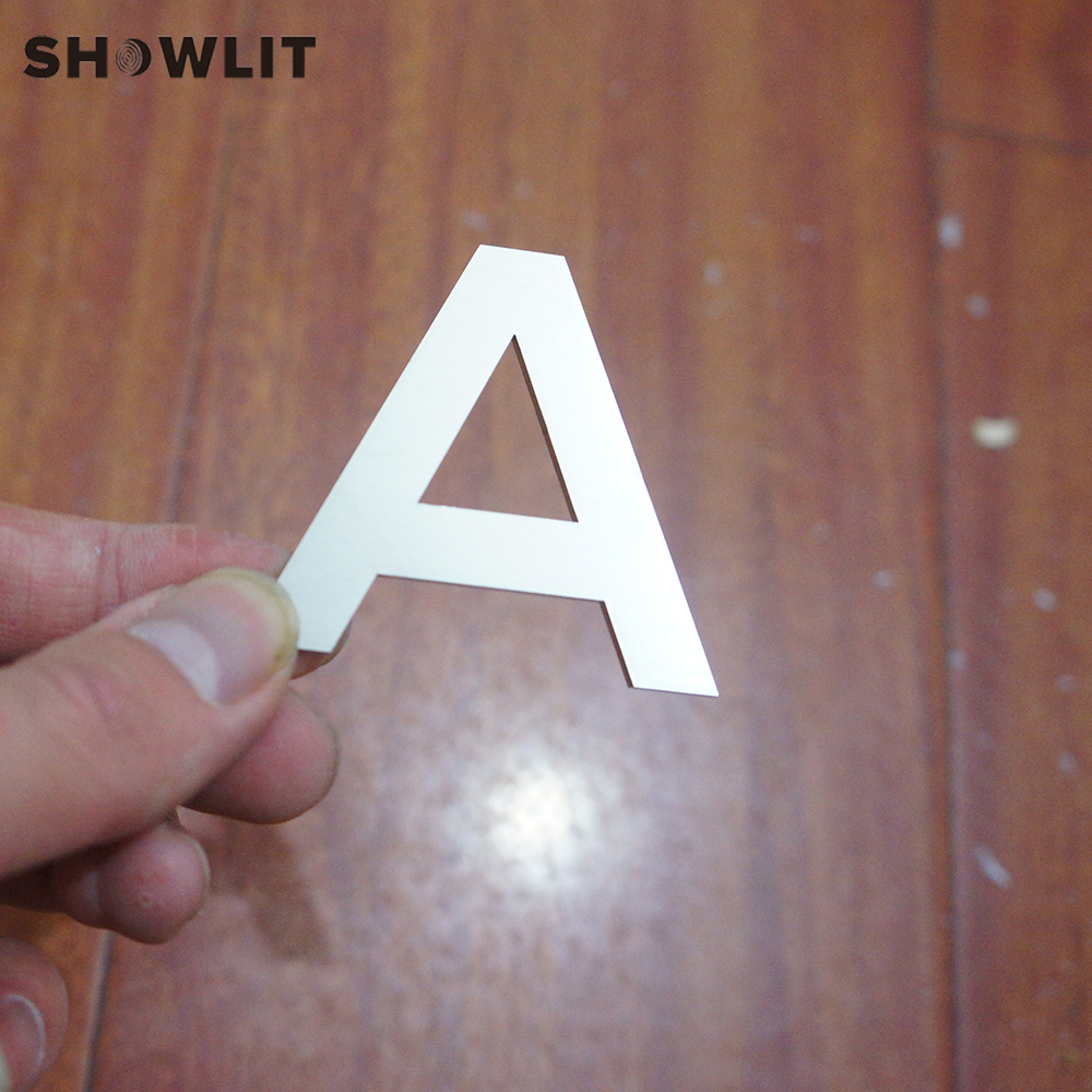 Laser Cutting Flat House Letter/Number 304 Grade Stainless Steel Small Size Home Letters Custom Made AvailableLaser Cutting Flat House Letter/Number 304 Grade Stainless Steel Small Size Home Letters Custom Made Available