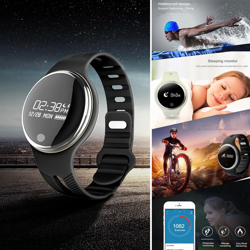 Volemer E07 Smart Band IP67 Waterproof Swimming Bluetooth Smartband Pedometer Sport Smart Wristband Fitness Tracker Anti