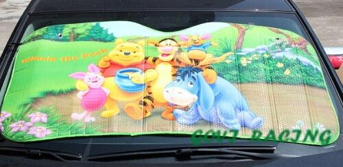 Auto zonnescherm auto zonneklep 130*70 cm gordijn voor autozonnescherm cortina carrosize auto automatisch parabrisas coche