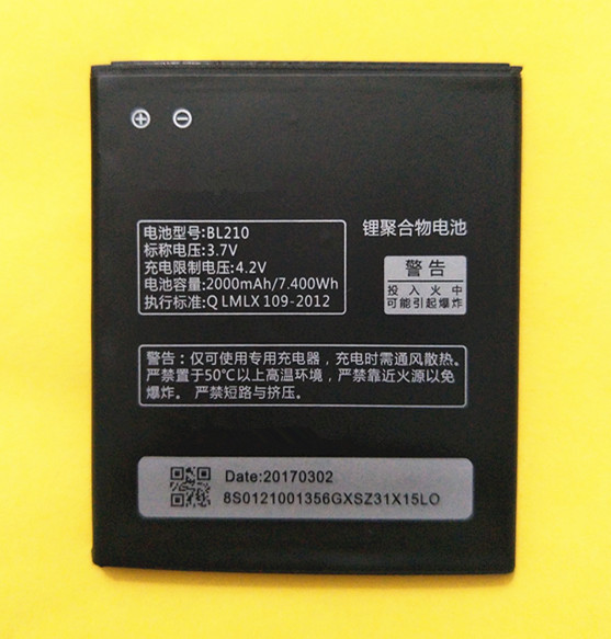 Replace-Battery Phone S650 BL210 Lenovo A536 for A606/S820/S820e/.. High-Quality