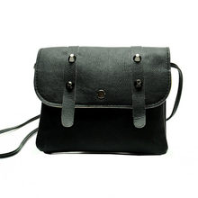 New Satchel Rivet Women Messenger Bags Leather Ladies Handbags Shoulder crossbody bags for women o bag price @(China)