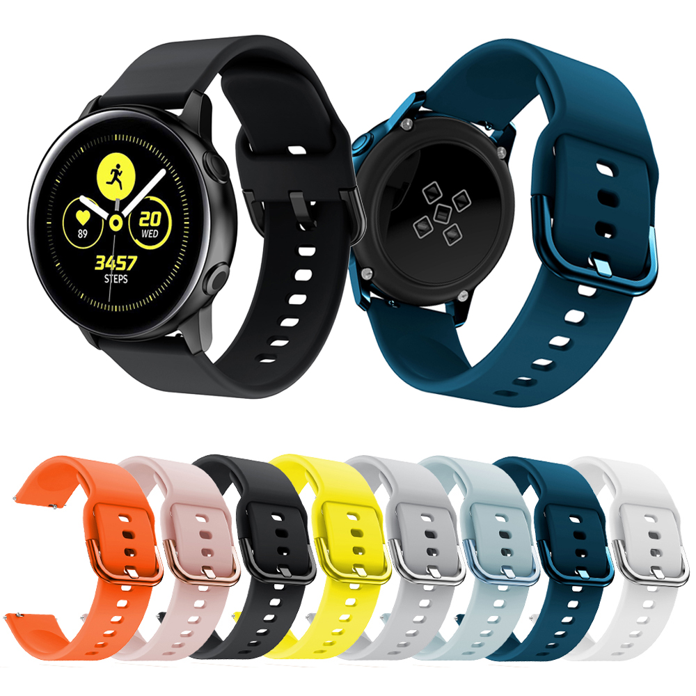 Band for Samsung Galaxy Watch active 42MM Soft Breathable Replacement Strap Sport Wristband For Samsung Galaxy Watch accessories-in Smart Accessories from Consumer Electronics