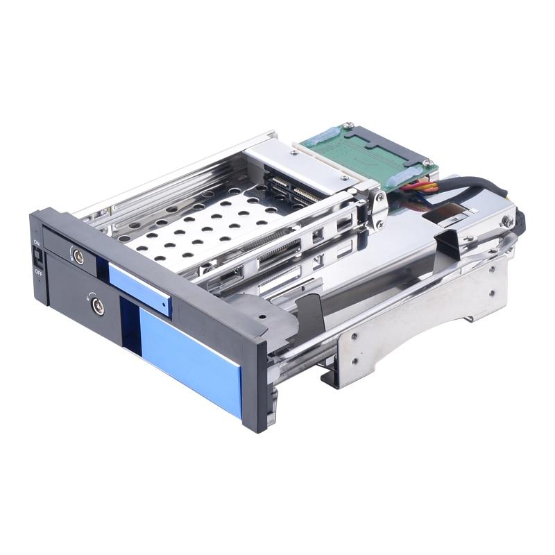 Uneatop ST7224L 2.5+3.5 inch Dual Bay 2-bay SATA HDD Rack Enclosure Blue Door лонгборд hudora lunada bay fsc 100%