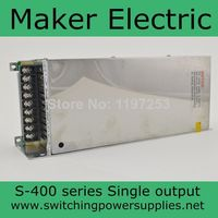hot supplying 24v 400w Switching LED Power Supply Transformer supply S 400 24 16A in stock