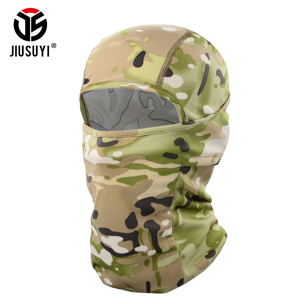 Multicam Cp Tacitcal Military Army Balaclava Airsoft Shooting Bicycle Camouflage Hat Helmet Liner Full Face Mask Beanies Cap Men