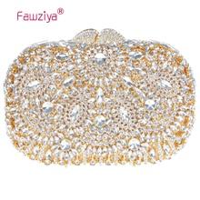 Fawziya Handtasche Lässig Rotierenden Blume Geldbörsen Für Frauen Luxus Strass Kristall Handtasche