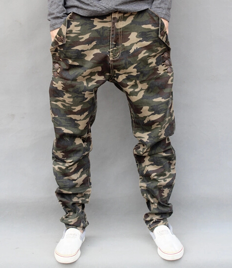 Camouflage jeans heren