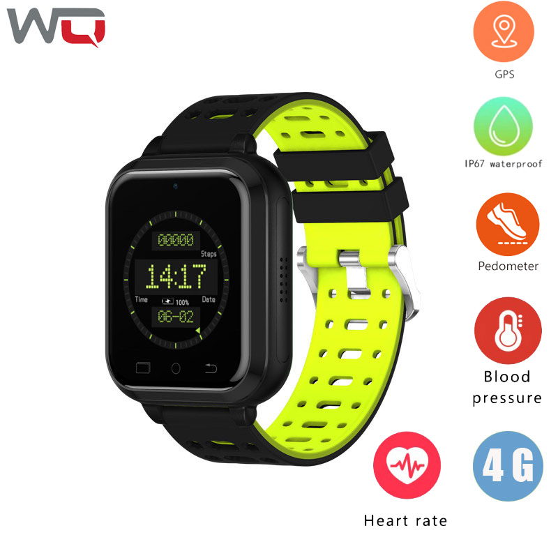 WQ Q1 Pro 4G Call Smart Watch Phone Men Android 6.0 1G+8G GPS Smartwatch Wifi Heart Rate Blood Pressure Smart Watch Android