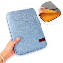 מגן מחשב נייד Case תיק כיסוי עבור Surface של מיקרוסופט ללכת 10 inch עמיד רוכסן שרוול 4 צבעים Tablet נסיעות פאוץ Case תיק