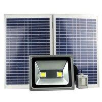 100 Вт светодиодный солнечный свет уличные садовые на солнечных батареях уличный свет затемнения eith 6 м переключатель на кабеле runtime4 12hours