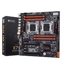 HUANANZHI X79-8D Процессор LGA2011 LGA 2011 материнская плата с двухъядерный процессор DDR3 подходит для сервера памяти и ЦП сервера