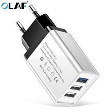 OLAF 3 Ports USB Charger For iPhone 6 7 8 Plus X XR XS Max F