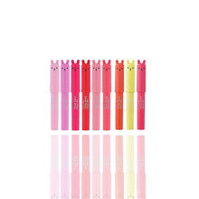 Original Petite Bunny Gloss Bar 2g 9Colors / Lipstick Lip Makeup Moisturizing Lasting Lip Gloss  Korea Cosmetic 1pcs