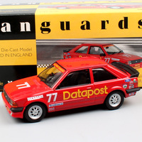 1/43 Scale Corgi Small Ford Escort MK3 RS1600i Datapost No.77 Richard Longman RAC Rally racing diecast vehicle cars model toys