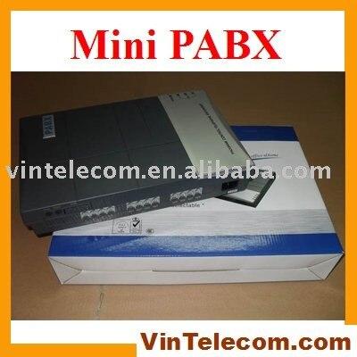 Good quality VinTelecom factory CS416 Phone system PBX PABX with 4 Lines x 16 Ext phone