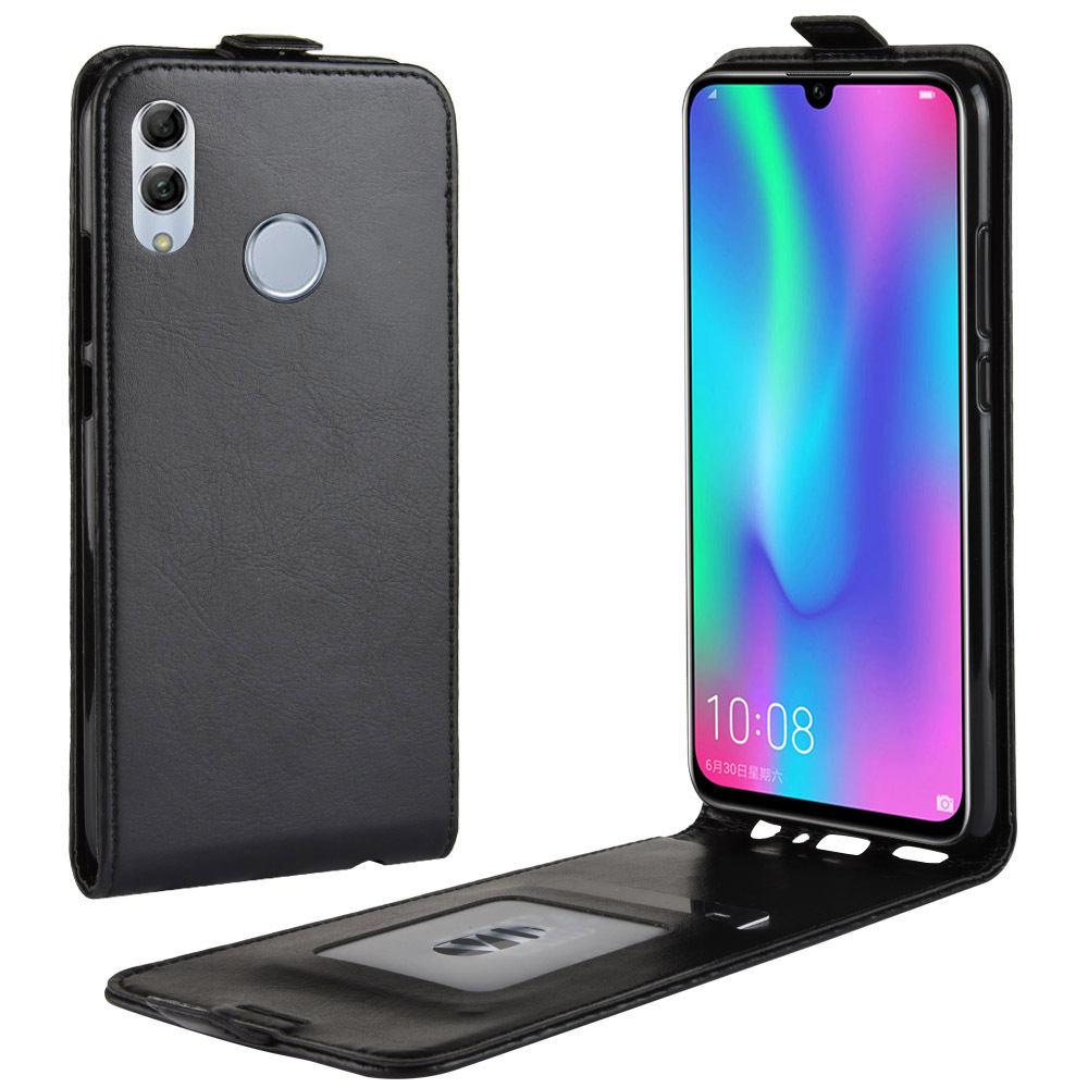 Vertical PU Leather <font><b>Flip</b></font> <font><b>Case</b></font> for Huawei <font><b>Honor</b></font> 8X 8C V20 V10 Wallet <font><b>Case</b></font> Cover For <font><b>Honor</b></font> 10 <font><b>9</b></font> <font><b>Lite</b></font> Magic2 With Card Phone Bag image