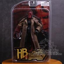 MEZCO Hellboy ПВХ фигурку Коллекционная модель игрушки