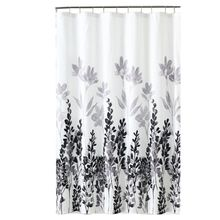 180cm*180cm Waterproof Fabric Bathroom Gray Blue Home Shower Curtains Product 2 Style