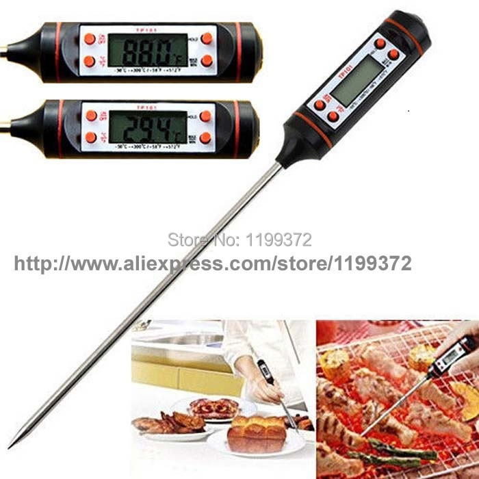 Tp101 digital cooking food thermometer $4. 95 free shipping.
