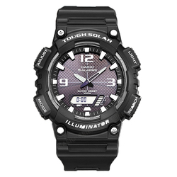 Casio Watch Army Relogios 2017 Free shipping Men Quartz Wrist Watch AQ-S810W-1A sports Swim Back Light Solar Power rubber band