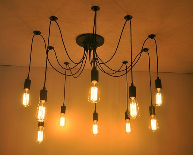 Spider lampada lampadario cucina industriale luce del pendente luci