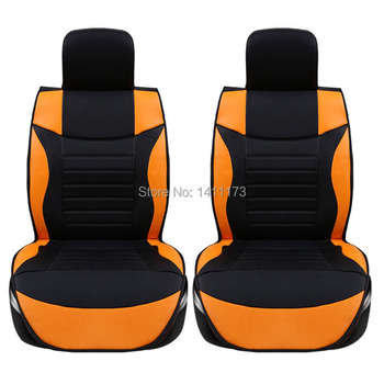 Classic Auto seat cushion sets 5Color PU leather car seat covers for all seasons Eco-friendly design Universal 5 seats 6 PCS/set