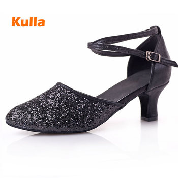 Latin Dancing Shoes For Women Girls Ballroom Party Tango Salsa Dance Shoes