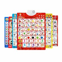 language Learning English Chinese bilingual baby Education Learning Machine toy Alphabet Music Phonic Wall Hanging Chart