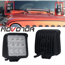 12/24V 27W Led Auto Flood Beam Motorfiets Lampen 3 Inch Led Auto Foglight Voor off Road Voor Jeep Vw Toyota 1Pcs(China)
