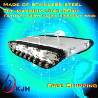 2019 Promotion Rc Tanks Full Metal Tank Car Chassis /all Structure,big Size Load Large/ Obstacle surmounting Fast Free Shipping