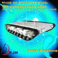 Nuevo 2019 promoción Rc tanques tanque de Metal completo Chasis de coche/toda la estructura, gran tamaño carga grande/obstáculo-montaje rápido envío gratis