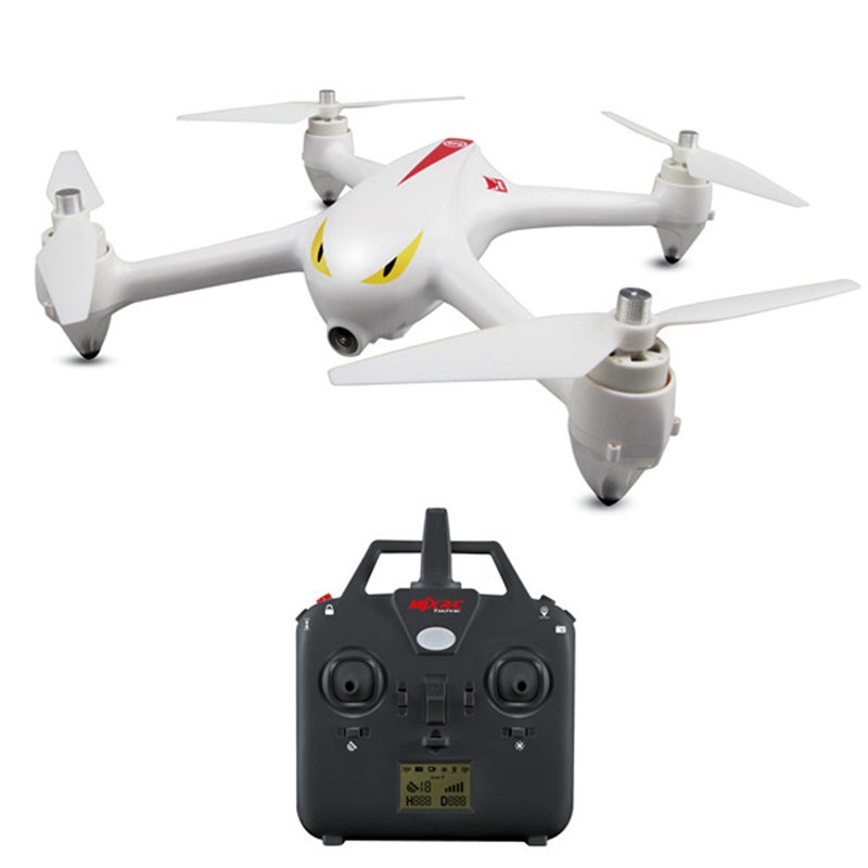 MJX B2C Bugs 2C Monster Brushless With 1080P HD Camera GPS Altitude Hold LED RC Drones Quadcopter Helicopter Toys RTF-white