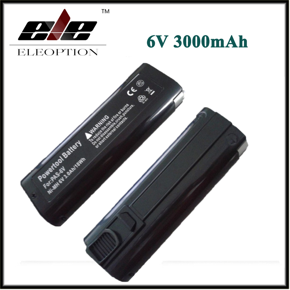 2PCS ELEOPTION font b Power b font font b Tool b font Battery for Paslode 6V