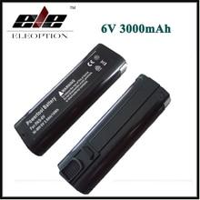2PCS ELEOPTION Power Tool Battery for Paslode 6V 3000mAh Ni-MH B20544E,404717 BCPAS-404717SH IM250A-F16,IM65A,F16 ,900420,900600