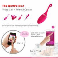 Téléphone intelligent REALOV APP jouets vibrants sans fil contrôle Bluetooth g-sport stimulateur Clitoris vibrateurs jouet sexuel Massage sauter oeufs