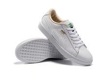 42deab8fb0afee Free shipping 2018 Original BTS x Puma Collaboration Puma Court Star Korea  Cadet shoes men s Sneakers Badminton Shoes Size40-44