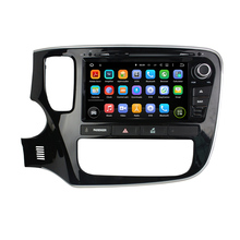 For Mitsubishi Outlander 2015 android 5.1.1 HD 1024*600 car dvd player gps autoradio 3G wifi dvr bluetooth free map and camera