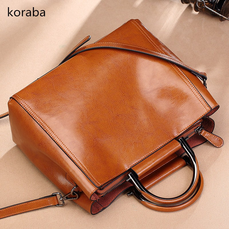 Brand New 2018 Women Handbags High Quality genuine Leather Tote Bag Solid Female Fashion Shoulder Bags Very Soft Casual Handbag 2017 special offer direct selling interior compartment genuine leather women shoulder bags hasp two solid soft tote solid bag