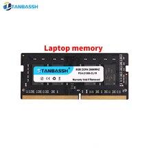 Tanbassh ddr4 4 ГБ 8 ГБ 2400 МГц 16 Гб 2666 МГц оперативная память sodimm память для ноутбука поддержка memoria ddr4 ноутбук пожизненная Гарантия