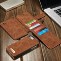 Creative Durable Mobile Phones  Protective Case Bag High Class Leather Magnet Style Coin Credit Card Organizer For Iphone  6/6S