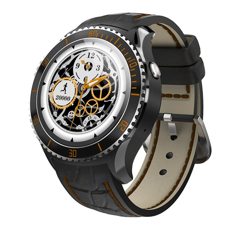 Bluetooth smartwatch smart watch i2 android 5.1 512 mb + 4 gb 1.33 pulgadas mtk6