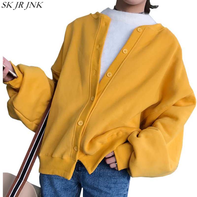 2017 Spring Autumn New Women Jacket Fashion Long Sleeve Basic Coat Ladies Button Jacket Female Casual Round Neck outerwear LY01