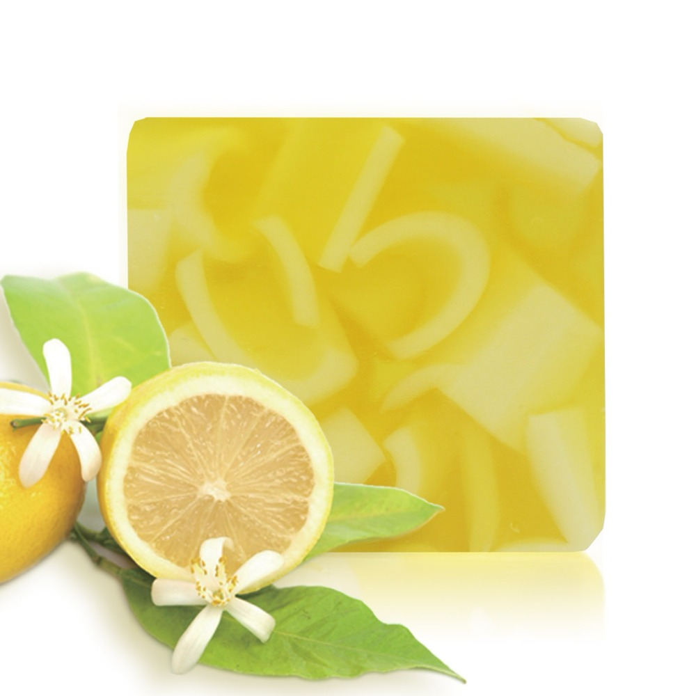 Organic Handmade Soap Bars Fragrance Orange Essential Oil Soap Moisturizing Cleaning Natural Soap Bar Shower Face Multi-Function