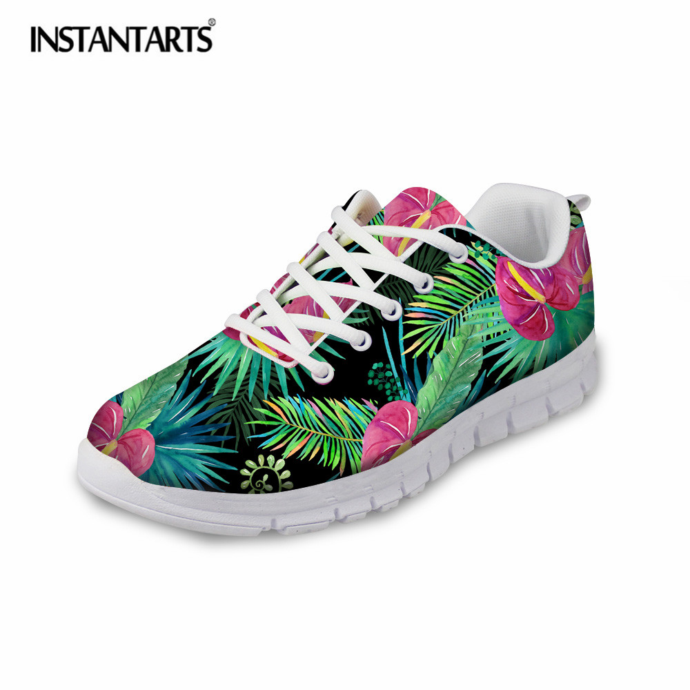 Twoheartsgirl Tropical Dolphin Printing Swing Shoes For Women Lightweight Casual Platform Shoes Novelty Ladies Slimming Shoes Women's Flats