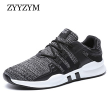ZYYZYM Men Sneakers Casual Shoes Men Breathable Mesh(Air mesh) Shoes Fashion Flats Shoes Off White Tenis Masculino Adulto