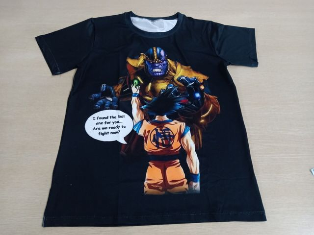 Thanos vs Goku Dragon Ball T-Shirt