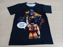 Camiseta Thanos Dragon Ball Super Goku 3D