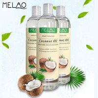 MELAO Fractionat Coconut Aromatherapy Relaxing Massage Carrier Oil Diluting Essential Oils Benefits Moisturizer Softener 16oz H