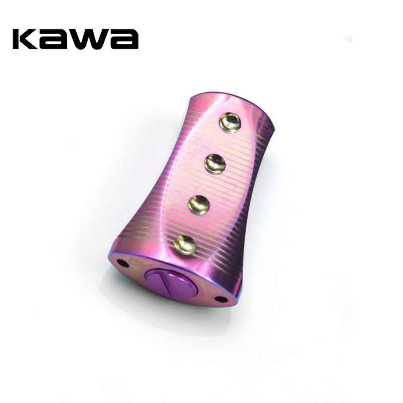 Kawa Rainbow Color High Quality Fishing Reel Handle Knob For Baitcasting Fishing Reels Component Fish Tackle Equipment Accessory