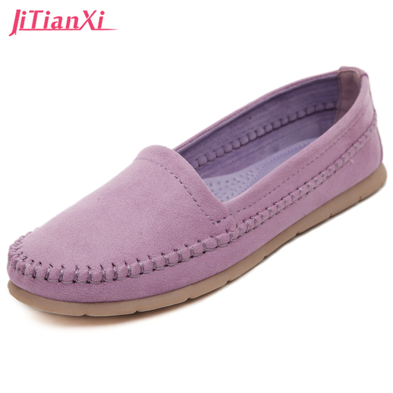 Discounts 2017 Fashion Genuine Leather Casual Loafers Shoes Women Sandals Summer Shoes Flats With Hollow Out
